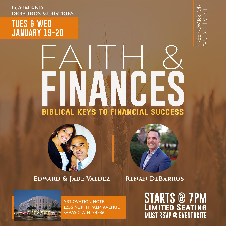Faith & Finances January 19-20